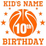 Personalized Basketball Birthday Original