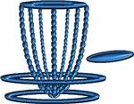 blue pearl disc basket original