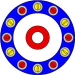 Curling Rock Art