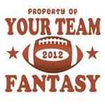 YOUR TEAM FANTASY FOOTBALL 2012