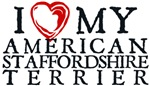 I Heart My American Staffordshire Terrier