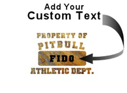 Personalized Property of Pit Bull