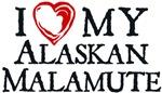 I Heart My Alaskan Malamute