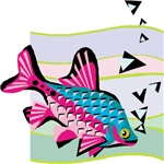 Tropical Fish Fantasy | Snorkler Scuba Diver Tiki Chic T-shirts & Gifts
