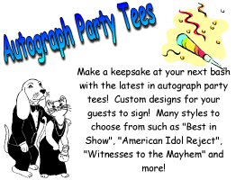 Autograph Party Tees