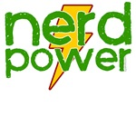 Nerd Power t-shirts for geeks