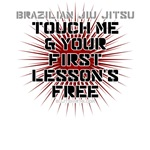 Touch me and your first lesson's free