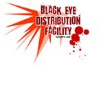 Black Eye Distribution Facility boxing tees