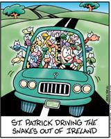 St. Patrick Driving Snakes