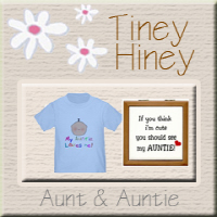 I love my auntie T-Shirts & baby clothes