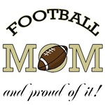 Football Mom T - Shirts & Gifts