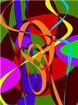 Irregular Abstract Forms and Lines