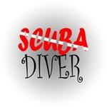 Scuba Diver Embroidery