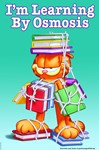 Garfield Learning by Osmosis