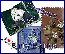 Feathers, Fins & Furry Beings