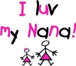 I luv my Nana (pink)