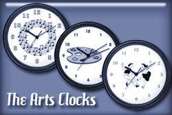 The Arts Occupation Wall Clocks