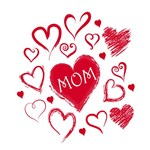 Mother's Day Hearts for Mom