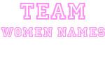 Pink Team Women Names
