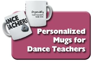 Personalized Dance Teacher Mugs