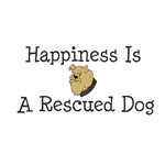 Happiness Is A Rescued Dog
