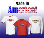 U.S. American State Themed Shirts