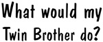 What would <strong>Twin</strong> Brother do