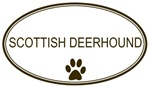 Oval <strong>Scottish</strong> <strong>Deerhound</strong>