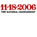 11.18.2006 The national championship