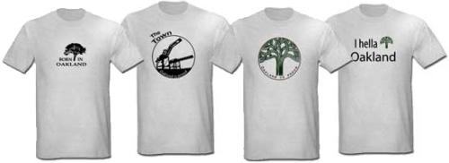 Oakland California Shirts
