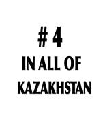 4 IN ALL OF KAZAKHSTAN