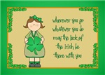 Irish Girl Blessing