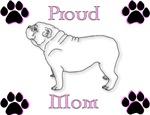 Proud Mom-Fancy Pink