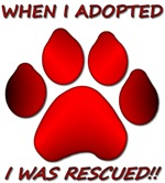 Adopted/Rescued-Red