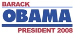 Barack Obama for President 2008 (simple) 