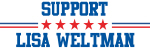 Support LISA WELTMAN