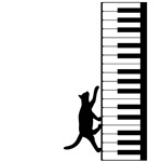 Cat and Piano v.2