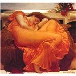 Flaming June Lord Leighton Sleeping Goddess Woman