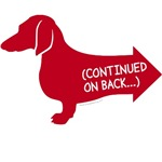 Dachshund continued on back...