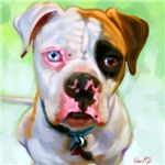 Bulldog Art Prints