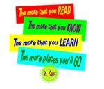 The More You Read-Dr. Seuss/t-shirt