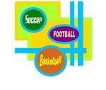 Soccer/Football/Basketball-Kids/Adult T