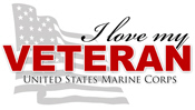 I Love My Veteran - USMC
