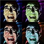 Dracula Pop Art