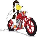 Pelican Biker