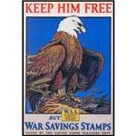 Keep Him Free Eagle