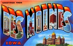 Des Moines Iowa Greetings