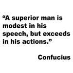 Confucius Superior Man Quote