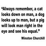 Churchill Animals Quote