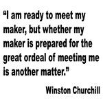 Churchill Maker Quote
